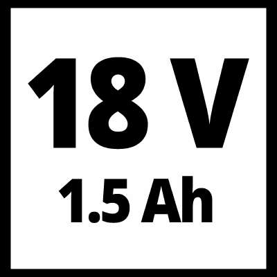 18 V Einhell 1.5 Ah