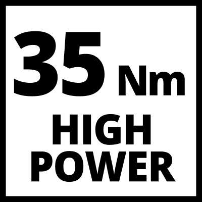 Okretni moment 35 Nm