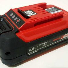Einhell PXC 2.6 Ah baterija bez pakiranja